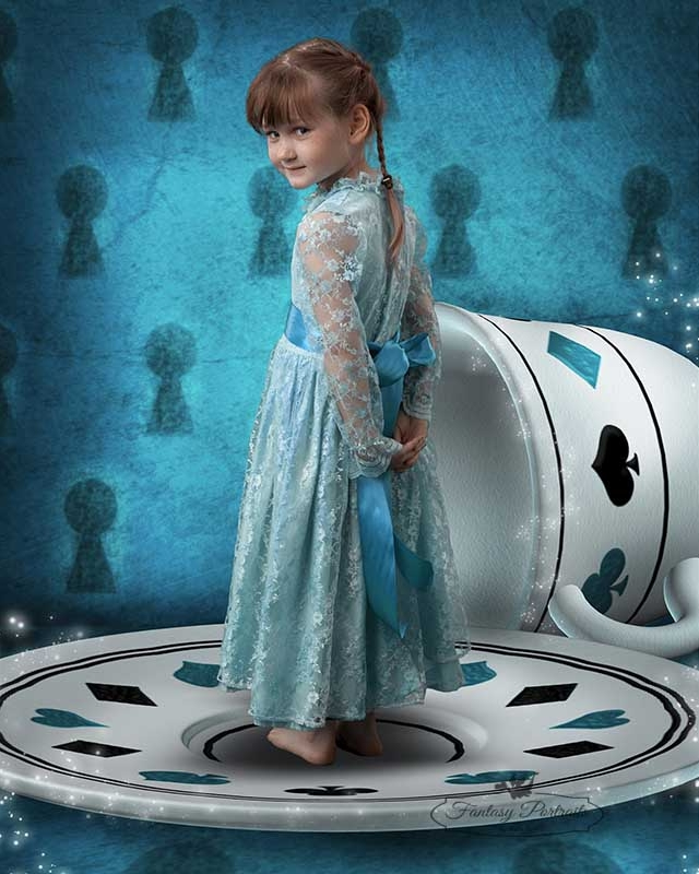 Josie as Alice in Wonderland